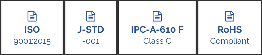 Mirian ISO Certifications